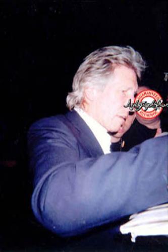 Pink Floyd Roger Waters Signed Live Vintage 16x20 Concert Photo PSA/DNA AFTAL UA