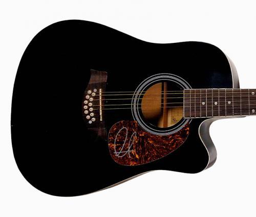 Adam Levine Autographed Signed 12-String Acoustic Guitar UACC RD COA AFTAL