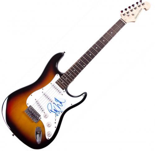 Roger Waters Autographed Signed Pink Floyd Sunburst Guitar UACC RD COA AFTAL