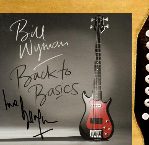Bill Wyman Autographed Signed CD Cover Acoustic Guitar UACC RD COA AFTAL