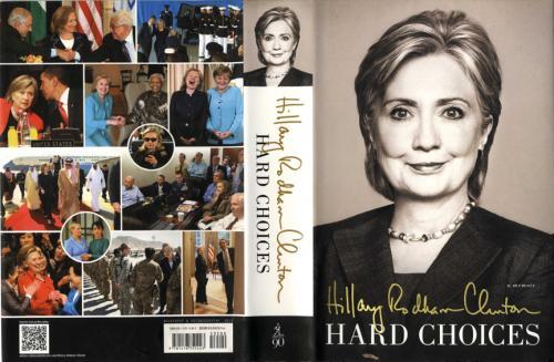 Hillary Clinton Senator President Un-Signed Hard Choices HC Book 1st/1st