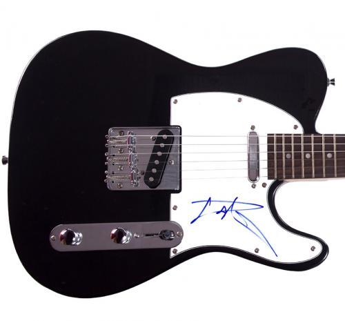Aerosmith Tom Hamilton Autographed Signed Tele Guitar AFTAL UACC RD COA