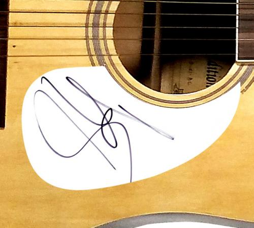 Aerosmith Steven Tyler Autographed Signed Acoustic Guitar AFTAL UACC RD COA