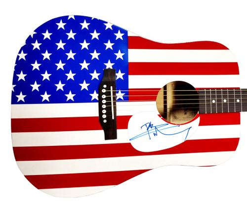 The Who Pete Townshend Autographed USA Acoustic Guitar AFTAL UACC RD COA