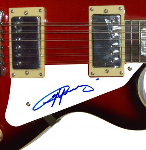 AC/DC Angus Young Autographed Signed 12 String Guitar AFTAL UACC RD COA