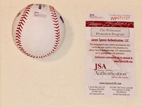 Millie Bobby Brown Signed OML Baseball  Stranger Things Eleven JSA Witness Cert