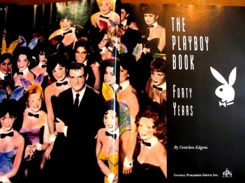Hugh Hefner Playboy Forty Years 40th Of Playboy History Book Jsa Full Letter
