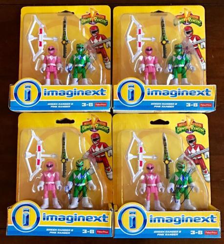Jason David Frank Green Power Ranger Signed Imaginext Figure Toy PSA/DNA COA