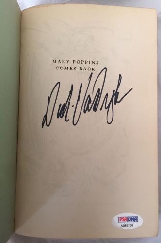 DICK VAN DYKE Signed Vintage 1935 c MARY POPPINS Hardcover Book PSA/DNA COA!!!