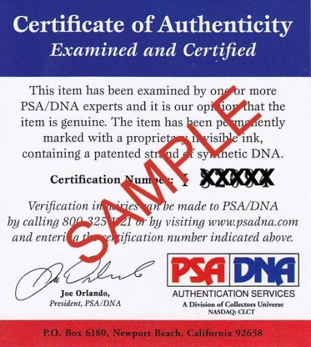 DONNIE DUNAGAN Signed BAMBI 16x20 Poster Photo Canvas Print PSA/DNA COA Proof