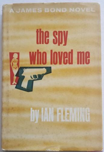 ROGER MOORE Signed JAMES BOND The Spy Who Loved Me Fleming 62' Book PSA/DNA COA