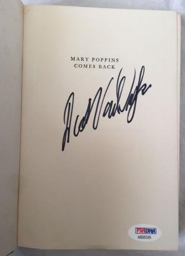 DICK VAN DYKE Signed Vintage 1963 MARY POPPINS Hardcover Book PSA/DNA COA