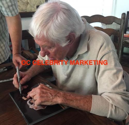 DICK VAN DYKE Signed Walt Disney Never a Dull Moment Lobby Card #4 PSA COA Proof