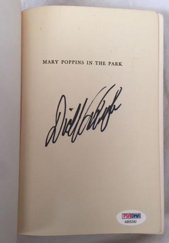 DICK VAN DYKE Signed Vintage 1952 (c) MARY POPPINS Hardcover Book PSA/DNA COA