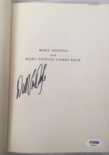 DICK VAN DYKE Signed Vintage 1963 MARY POPPINS Hardcover Book PSA/DNA COA!!