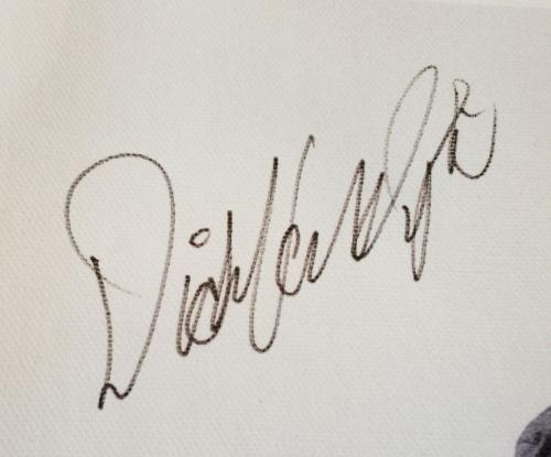 "DICK VAN DYKE ""Bert"" Signed Disney MARY POPPINS 16x20 Canvas Print PSA/DNA COA"