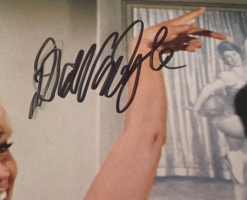 DICK VAN DYKE Signed Walt Disney Never a Dull Moment Lobby Card #8 PSA COA Proof