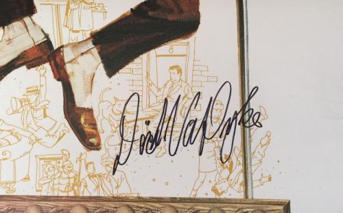 DICK VAN DYKE Signed Disney's Never a Dull Moment Full Size 27x40 Poster PSA COA