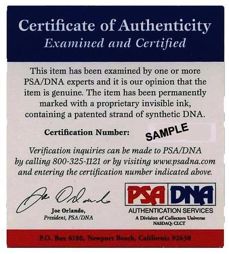 GENE WILDER + MICHAEL BOLLNER Signed 8x10 Photo Willy Wonka PSA/DNA #4A96000