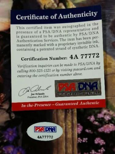 PAIGE O'HARA Signed 16x20 Photo Kinkaid Reprint Beauty & the Beast PSA/DNA COA