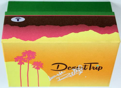 Keith Richards Rolling Stones Signed Desert Trip Ticket Box w/ Image3D BAS