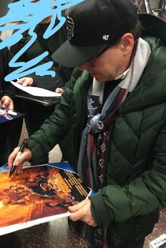 CHRIS COLUMBUS signed *HARRY POTTER* Prisoner of Azkaban poster 8X10 PROOF W/COA