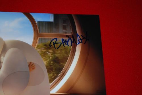 SCOTT ADSIT big hero 6 baymax signed 11x14  beckett BAS inscribed baymax COA