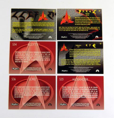 Star Trek The Next Generation Episode Collection Klingon Embossed Season 6 Set