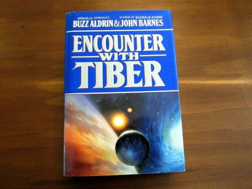Buzz Aldrin Apollo 11 Astronaut Signed Auto Encounter With Tiber Book Jsa