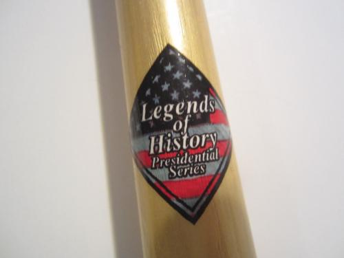 GEORGE BUSH P.O.T.U.S Signed Autographed Baseball Bat Certified JSA Loa Coa Rare