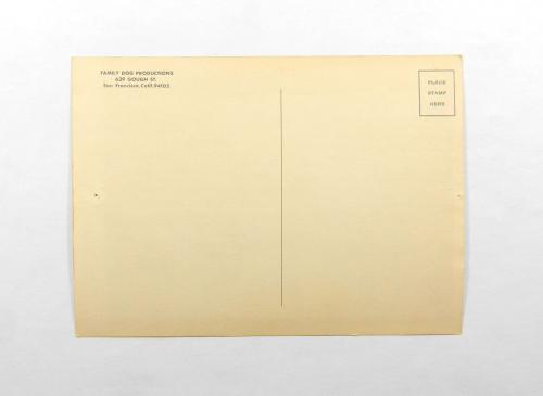 Family Dog Production The Doors/ Steve Miller April 14-15 1967 Postcard FD# #57