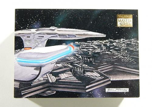 Lot of (9500) 1994 Skybox Card Collector's Price Guide Star Trek TNG Promo Cards