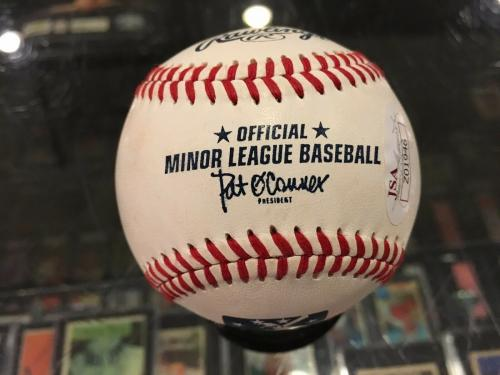 Eddie Vedder Pearl Jam Chicago Cubs Single Signed Baseball Jsa Authentic Mint