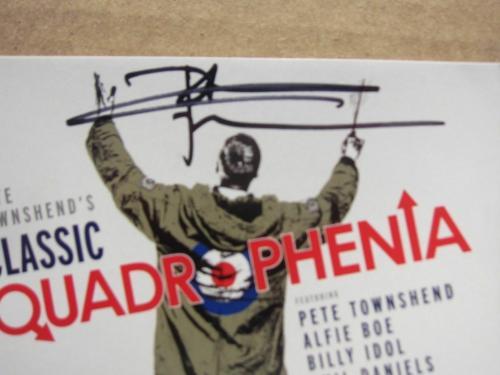 Pete Townshend The Who Signed CD Cover Classic Quadrophenia Beckett BAS auto