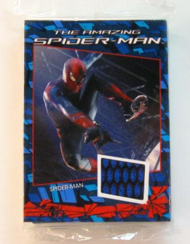 2012 Rittenhouse Spider-Man 16-Card Costume Set SEALED w/ Andrew Garfield relics