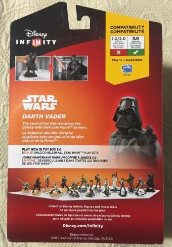 Dave Prowse SIGNED DISNEY Infinity STAR WARS Figure Darth Vader FIGURE JSA COA