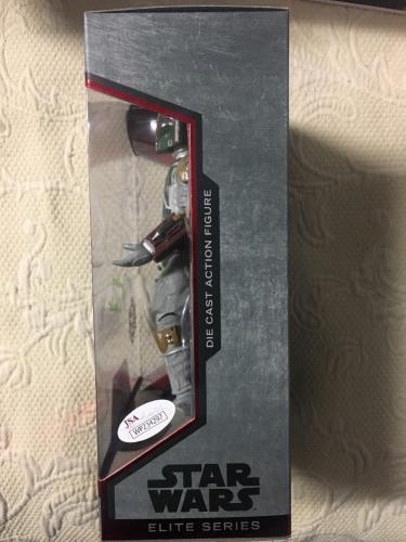 Jeremy Bulloch Signed Disney Star Wars Elite Series Boba Fett Figure Jsa Coa 3