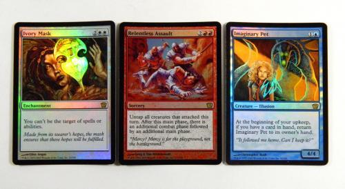 Lot of (75) Assorted Magic The Gathering MTG Ninth 9th Edition Foils Spirit Link