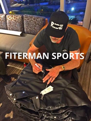 Jeffrey Dean Morgan Negan Signed Autographed Jacket Walking Dead JSA Authentic