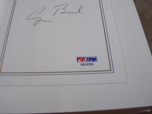George H Bush Signed Autographed All The Best HB Book PSA Certified