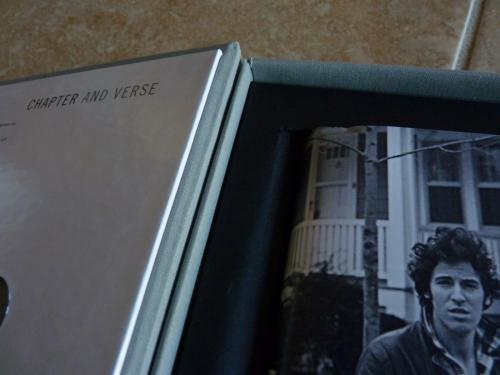 Bruce Springsteen Hand Signed Born To Run Deluxe Limited Edition Book+CD