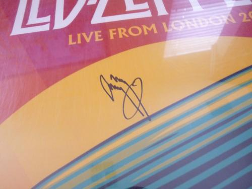 Led Zeppelin jimmy Page Signed Autographed 20x30 Poster PSA Certified