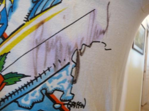 Grateful Dead Signed Tour Shirt 1987 PSA Certified Jerry Garcia Bob Weir Mydland