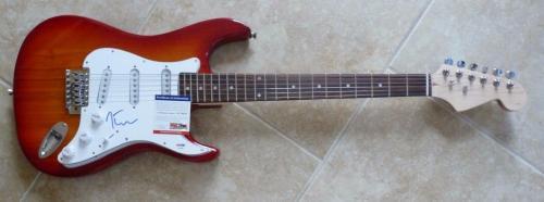 Joe Elliot Def Leppard Signed Autographed Music Electric Guitar PSA Certified