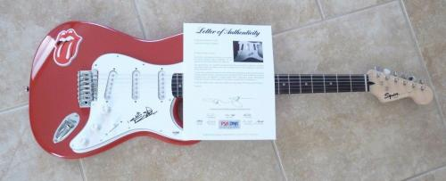 Keith Richards Rolling Stones Signed Autographed Electric Guitar PSA Certified