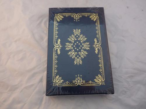 President George H W Bush Signed Speaking Of Freedom Easton Press Leather New