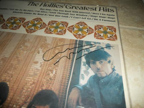 Graham Nash Hollies IP Signed Autographed LP Album Record PSA Certified