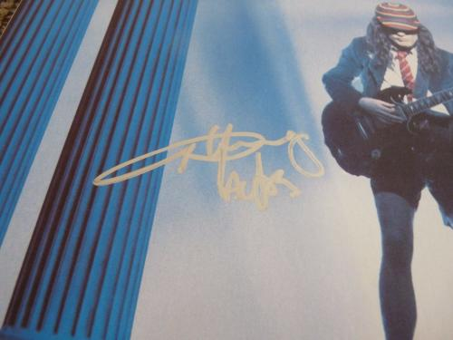 AC/DC Angus Young Who Made Who Signed Autographed LP Album PSA Certified