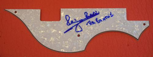 Pete Best Signed Autographed Hofner Bass Guitar Pickguard The Beatles Proof B
