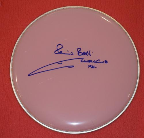 Pete Best Signed Autographed Drumhead The Beatles Cavern Club 1961 Exact Proof